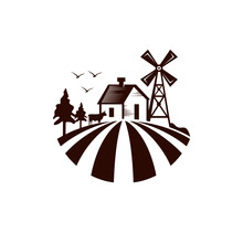 Nature Farm  Logo Templates
