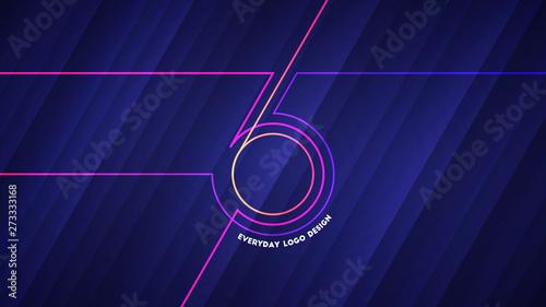 Fotografia, Obraz  Everyday logo design