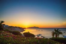Sunrise Over The Red Sea. Beau...