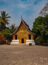Wat Xieng Thong Temple In Luan...