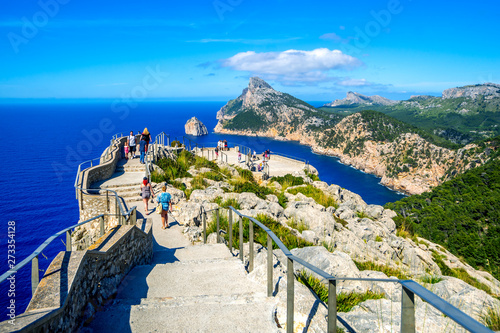 Cap de Formentor, Mallorca Fototapet