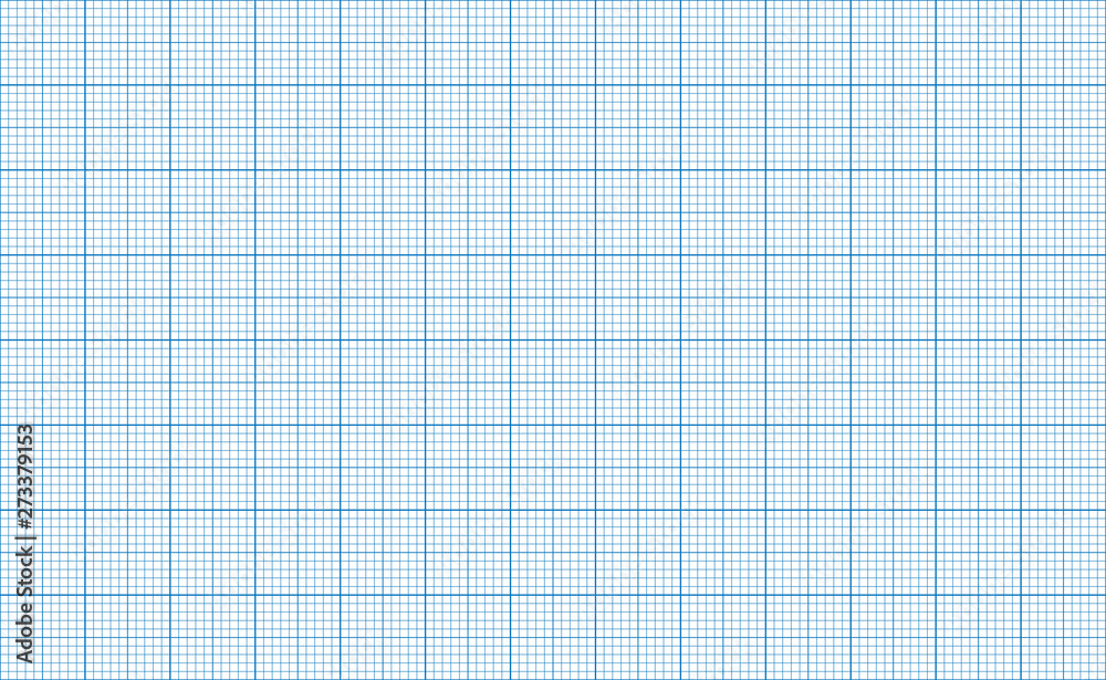 Fototapety, obrazy: Millimeter grid. Square graph paper background. Seamless pattern. Vector illustration