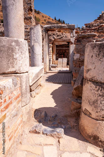 Ruins of the ancient city, Ephesus Wallpaper Mural