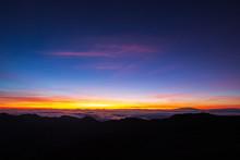 Sunrise At Haleakala Crater, M...