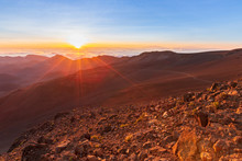 Sunrise At Haleakala Crater, M...