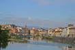 panoramic view of florence italy
