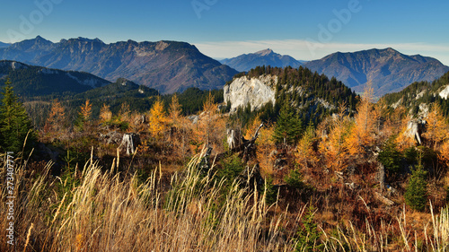 Herbstlandschaft im Salzkammergut