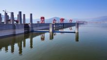 Three Gorges Dam, Reservoir Side - Sandouping, Yichang, Hubei, China