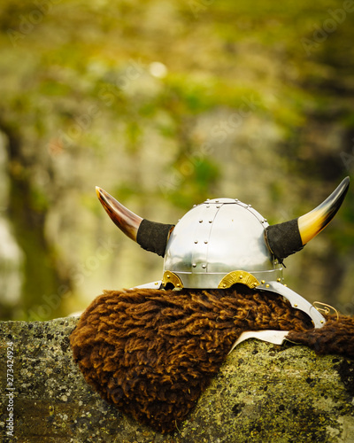 Photo  Viking accessory on nature, Norway