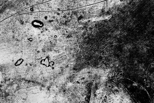 Black and White Door Stickers → Black and White Door Murals