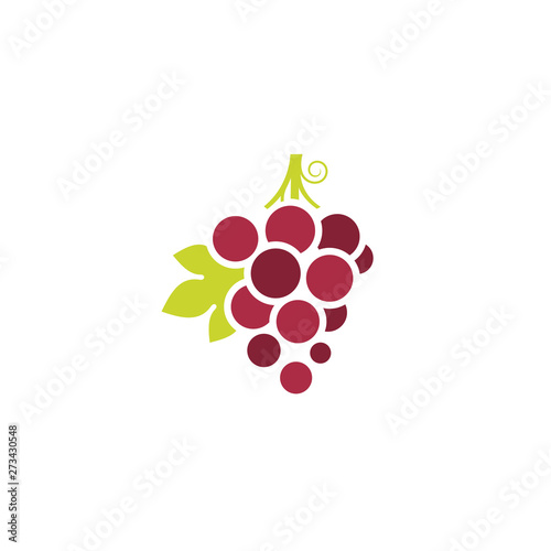 Valokuvatapetti Red grape