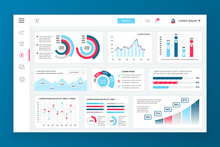 Dashboard Admin Panel Vector D...