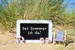 Leinwandbild Motiv Der Sommer ist da!