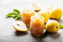 Sweet Jam With Yellow Pears