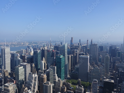 Beautiful New York City skylinea