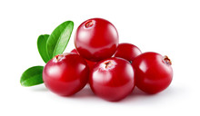 Cranberry With Leaves. Cranber...