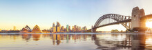 Panorama Of Sydney Harbour And...