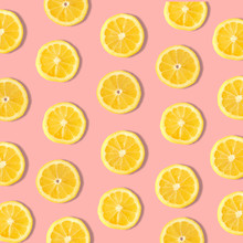 Summer Fruit Pattern Of Lemon ...