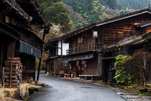 Papiers peints Fleur de cerisier Post town of Tsumago, Kiso valley