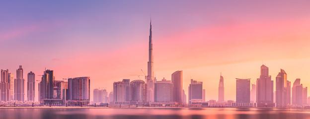 Cityscape of Dubai and pano...