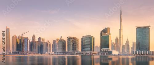 Panoramic view of Dubai Bus...