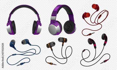 Fototapeta  Realistic headset