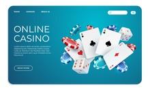 Online Casino. Web Landing Pag...