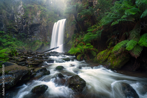 Cadres-photo bureau Cascades Hopetoun Falls a popular waterfall in the Otway Ranges on the Great Ocean Road near Apollo Bay