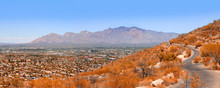 View Of Tucson AZ In Various D...