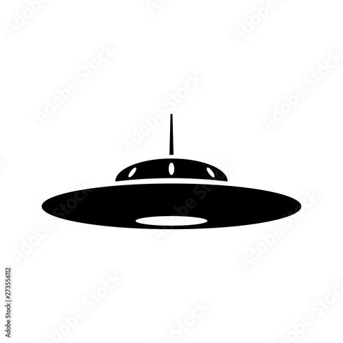 UFO icon Wallpaper Mural