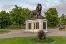 Maiwand Lion. Forbury Gardens Reading Berkshire UK.