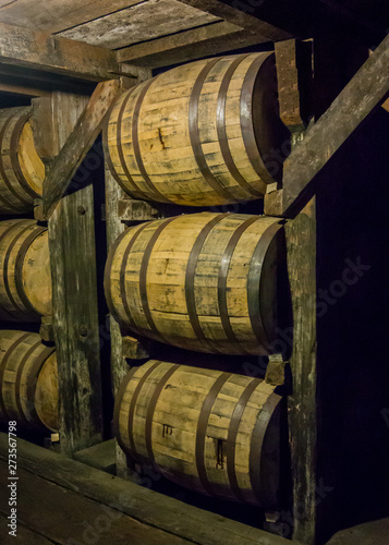 Barrels from Angle View