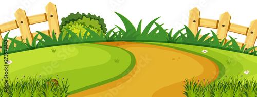 Fond de hotte en verre imprimé Vert chaux A nature garden template
