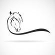 Vector of horse head design. Wild Animals. Horse logo or icon.