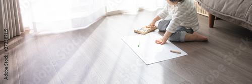 Obraz 子供 お絵描き - fototapety do salonu