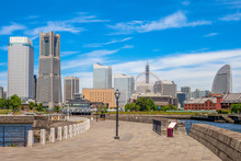 Scenery Of Yokohama Port At Zounohana Terrace