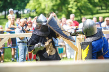 Medieval Jousting Knight Fight...