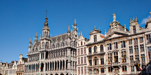 Grand Place Of Brussels In Bel...
