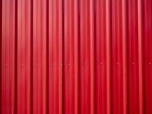 Red Zinc Texture Wall,metal Floor. Red Tile Roof Floor Background