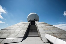 View Of Radar Station Against ...