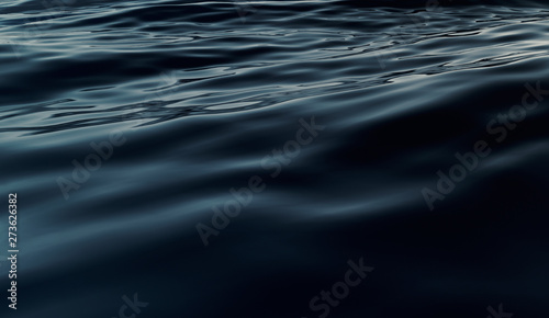 Fototapeta Abstract Dark Water Surface obraz