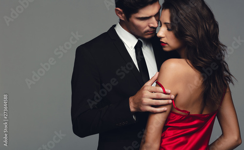 Fototapeta  Couple in a sensual moment