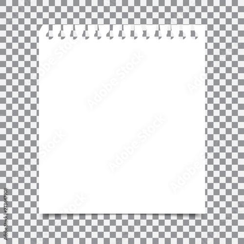 Montage in der Fensternische Spirale Blank realistic spiral notepad notebook isolated on transparent background