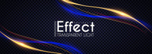 Motion Light Effect. Shining W...