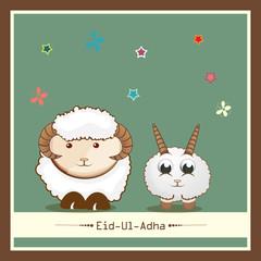Eid-Ul-Adha festival celebration in kiddish style.