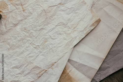 Old dirty paper texture background  Vintage letter template  - Buy