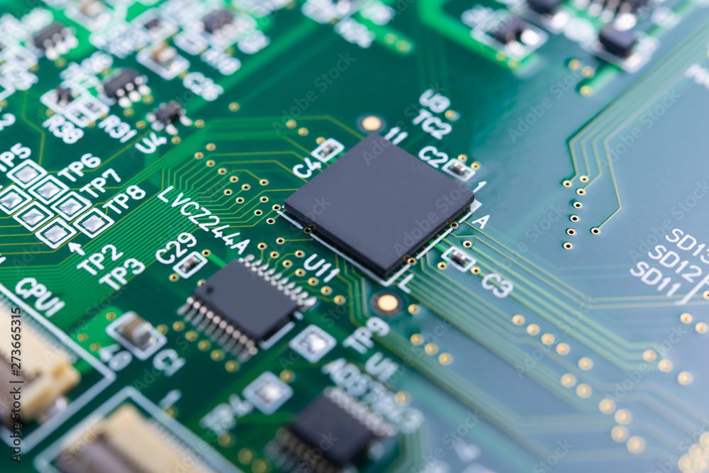 Fototapeta 基板 電子回路 テクノロジー エレクトロニクス 先端技術 イメージ