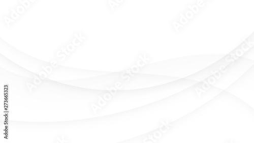 Montage in der Fensternische Abstrakte Welle White abstract geometric vector background