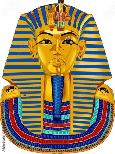 Stampa su Tela Sarcófago de faraón