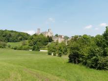 Lörrach. Château De Rhotelin (Rötteln) Dans Le Markgräflerland En Allemagne